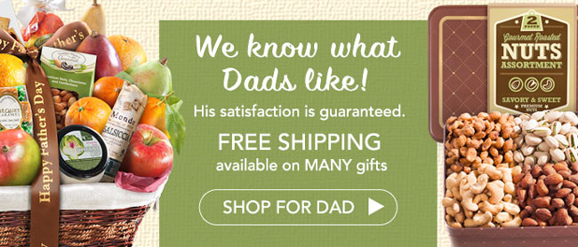 Father's Day Fruit Chocolate Gourmet Clubs